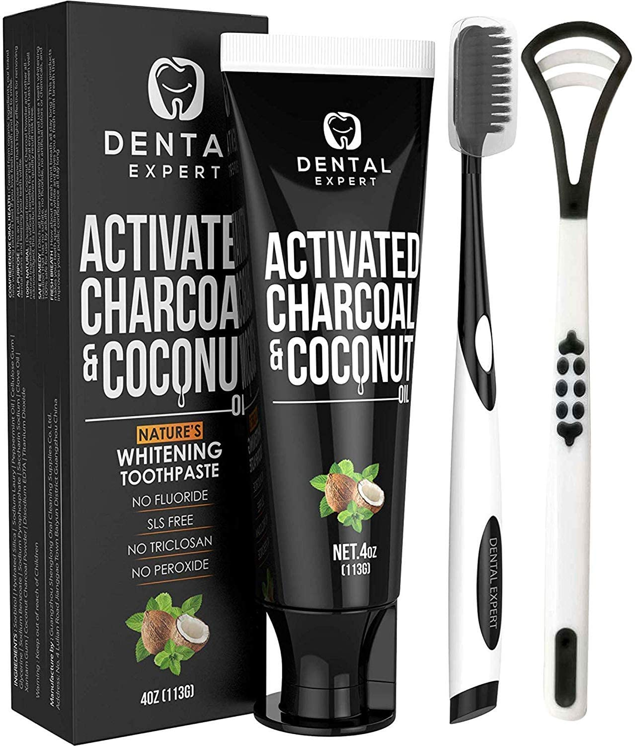 activated charcoal toothpaste as natural teeth whitening aid, does it work